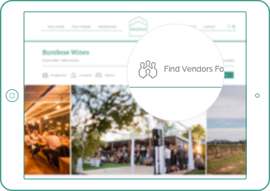 Match venues and vendors by location - WedShed