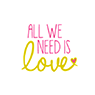 All We Need Is Love - WedShed