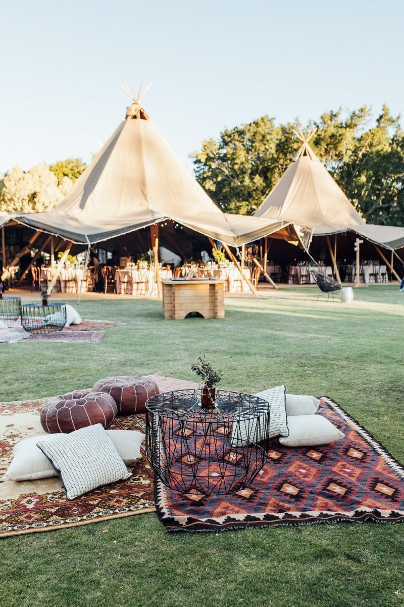 Tipi Anniversary Party Wedshed