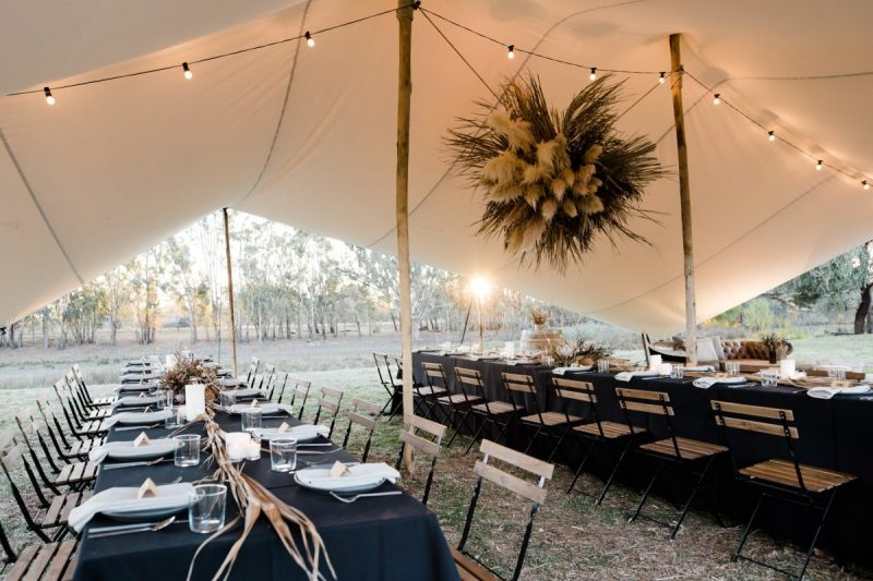 NSW marquee wedding