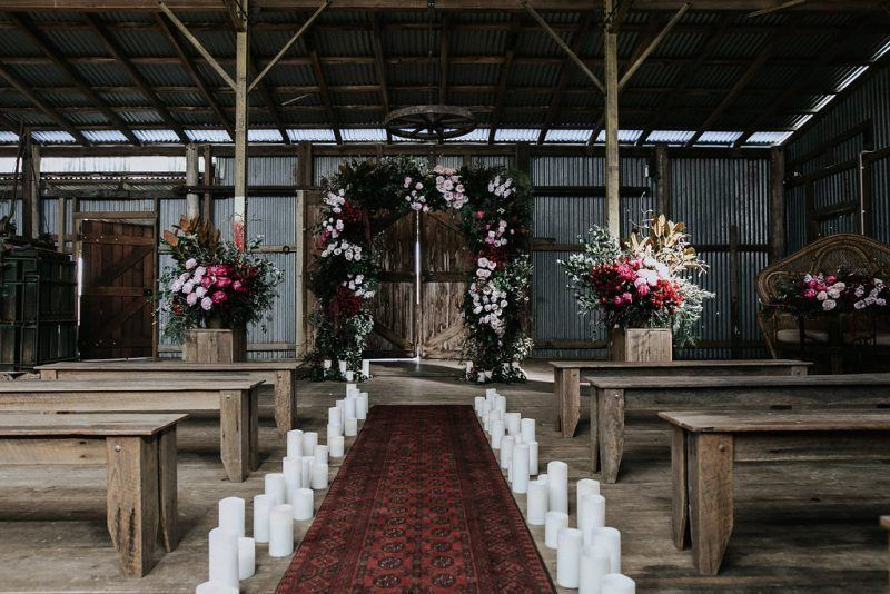 rustic NSW wedding venue