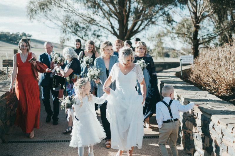 NSW garden wedding
