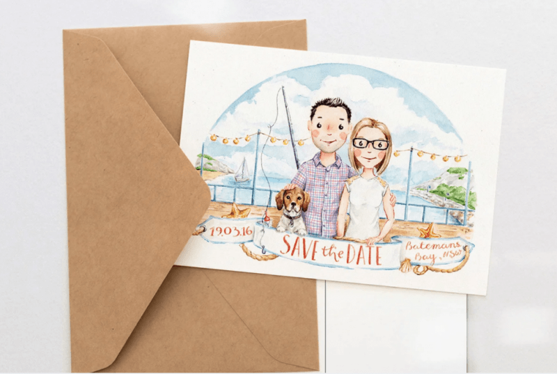 creative wedding stationery