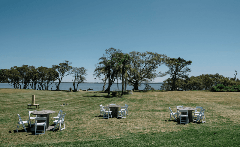 NSW waterfront wedding venue