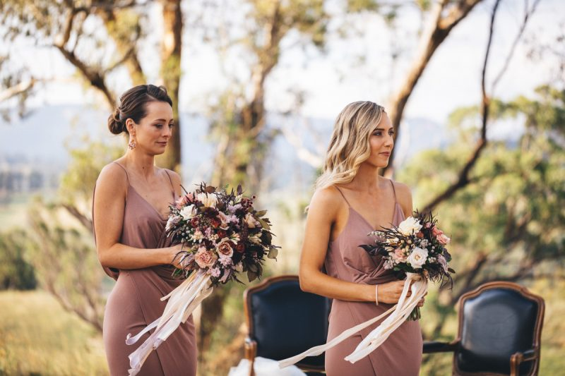 Ceremony at Blue Mountains wedding