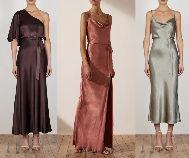 bridesmaids dresses by Shona Joy